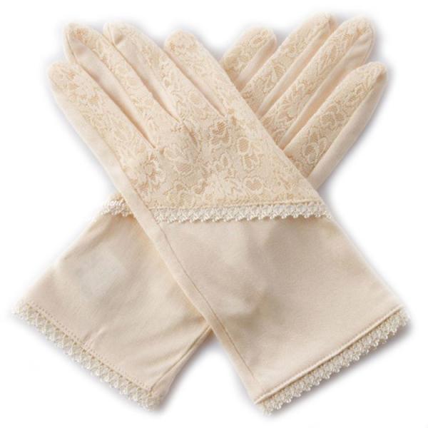 シルク100%手袋 日除けテブクロ 紫外線防止 手湿疹や手荒れに最適なシルク手袋 セール|thebest|08