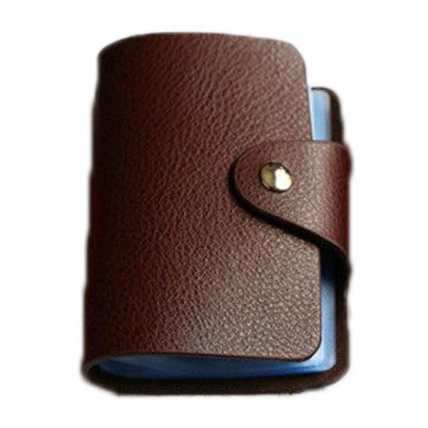 カードケース 本革26ポケットハンドメイド カードケースポイントカード入れidカードケースかわいい名刺入れクレジットカードケース