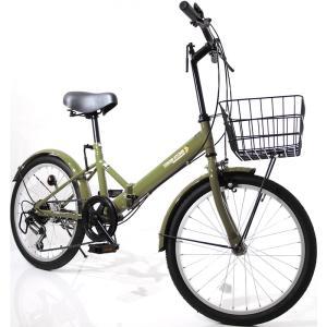 本州送料無料 折りたたみ自転車 20インチ カゴ・ライト・カギ付き シマノ製6段ギア 折り畳み自転車 ミニベロ【AJ-08】 three-stone-ys 25
