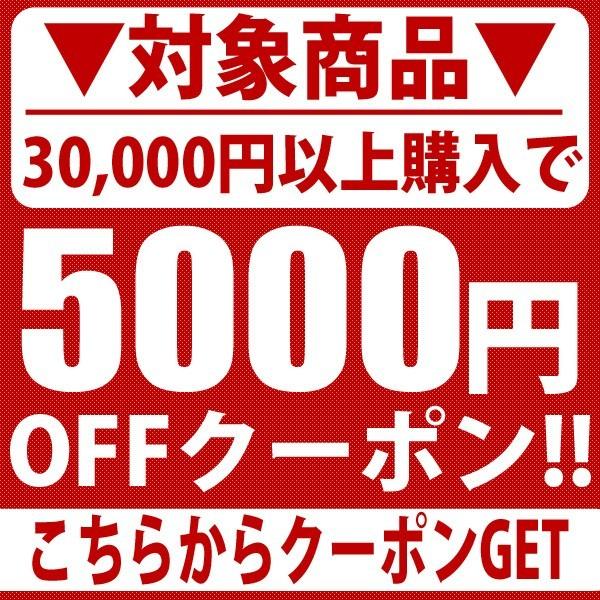 30,000円以上購入で5000円OFF