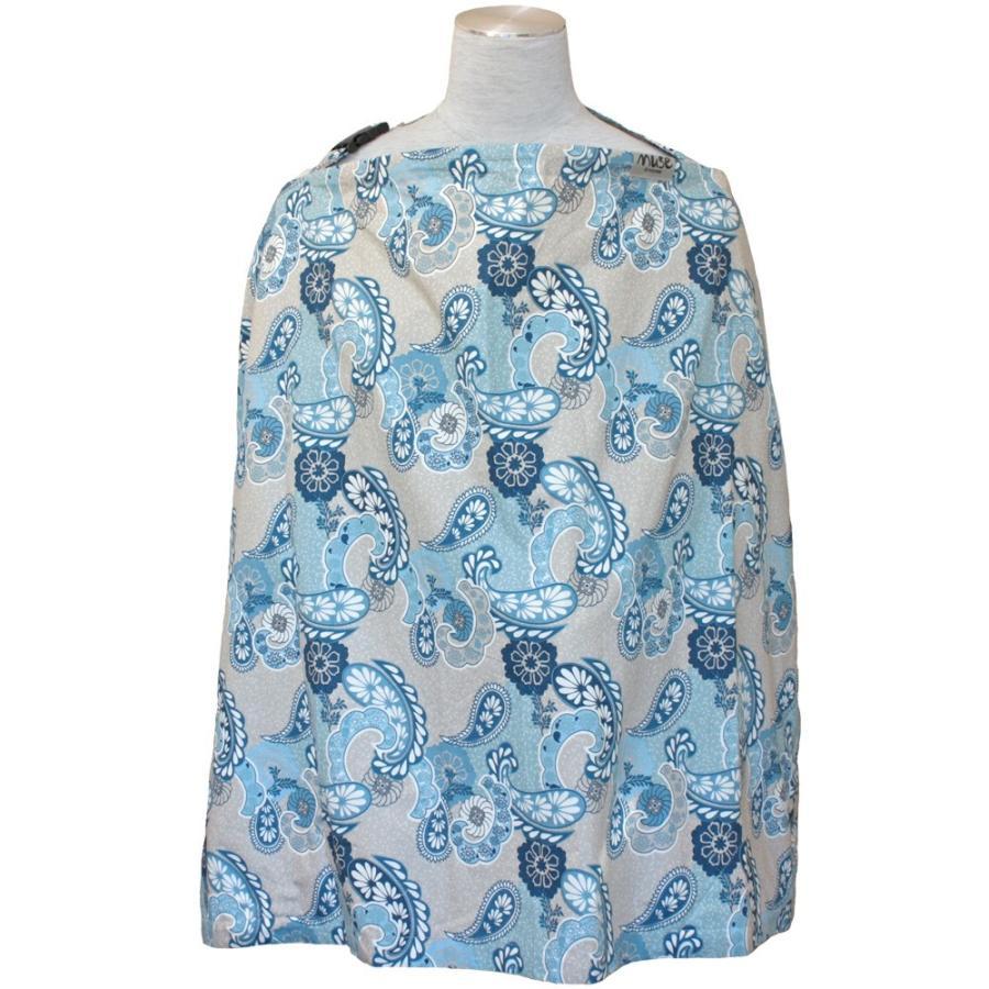 授乳ケープ MUSE(めくれ防止!背面バックル付)4 ワイヤー入り 授乳ケープ ナーシングカバー お口拭き 収納巾着袋 授乳服TA5 tifone 20