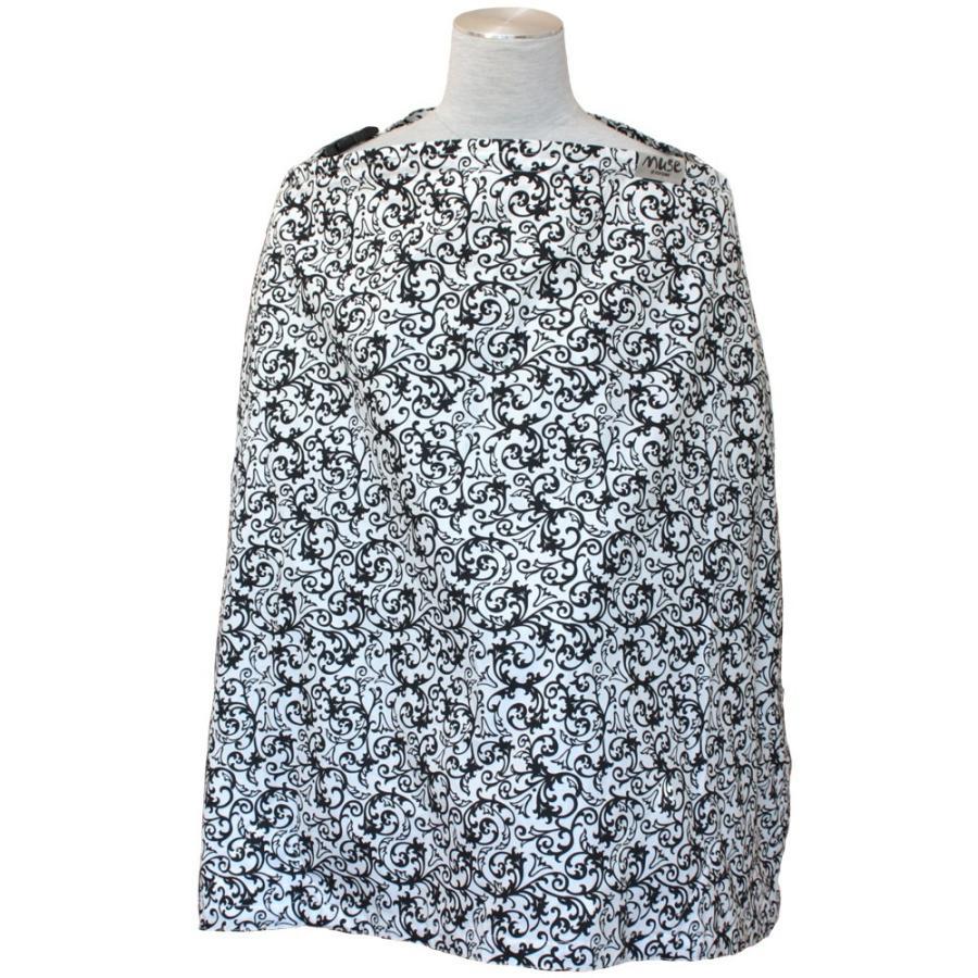 授乳ケープ MUSE(めくれ防止!背面バックル付)4 ワイヤー入り 授乳ケープ ナーシングカバー お口拭き 収納巾着袋 授乳服TA5 tifone 14