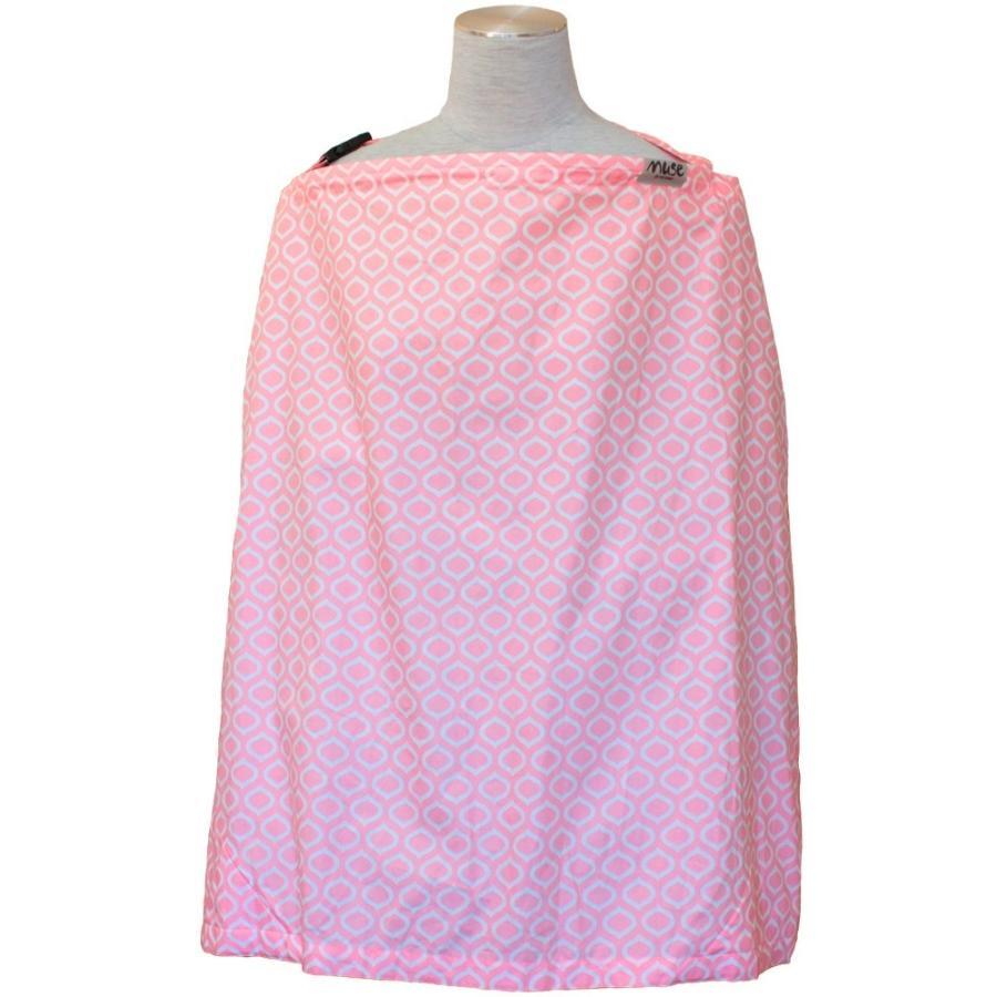 授乳ケープ MUSE(めくれ防止!背面バックル付)4 ワイヤー入り 授乳ケープ ナーシングカバー お口拭き 収納巾着袋 授乳服TA5 tifone 12