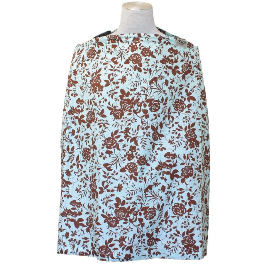 授乳ケープ MUSE(めくれ防止!背面バックル付)4 ワイヤー入り 授乳ケープ ナーシングカバー お口拭き 収納巾着袋 授乳服TA5 tifone 18