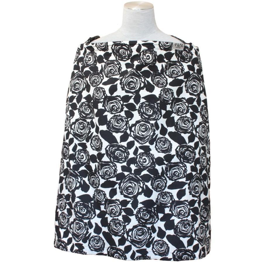 授乳ケープ MUSE(めくれ防止!背面バックル付)4 ワイヤー入り 授乳ケープ ナーシングカバー お口拭き 収納巾着袋 授乳服TA5 tifone 15