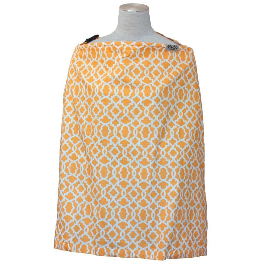 授乳ケープ MUSE(めくれ防止!背面バックル付)4 ワイヤー入り 授乳ケープ ナーシングカバー お口拭き 収納巾着袋 授乳服TA5 tifone 11