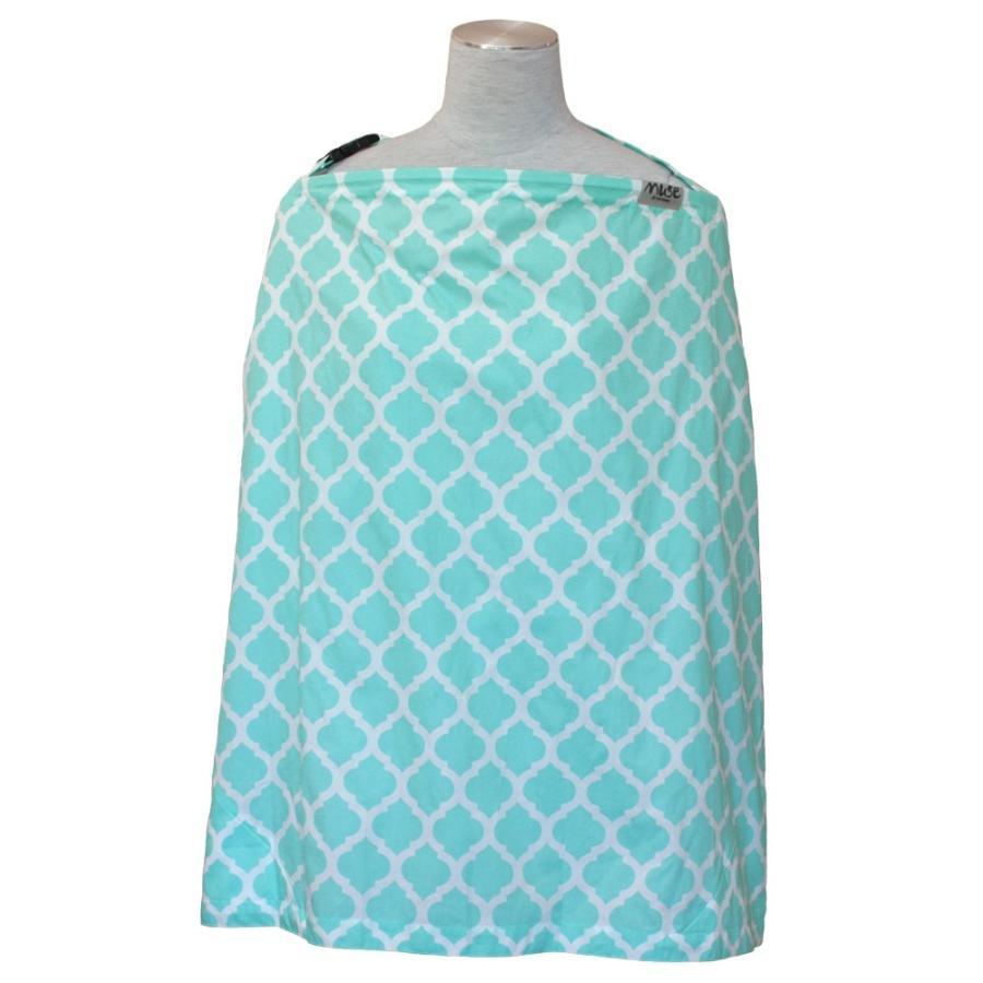 授乳ケープ MUSE(めくれ防止!背面バックル付)4 ワイヤー入り 授乳ケープ ナーシングカバー お口拭き 収納巾着袋 授乳服TA5 tifone 10
