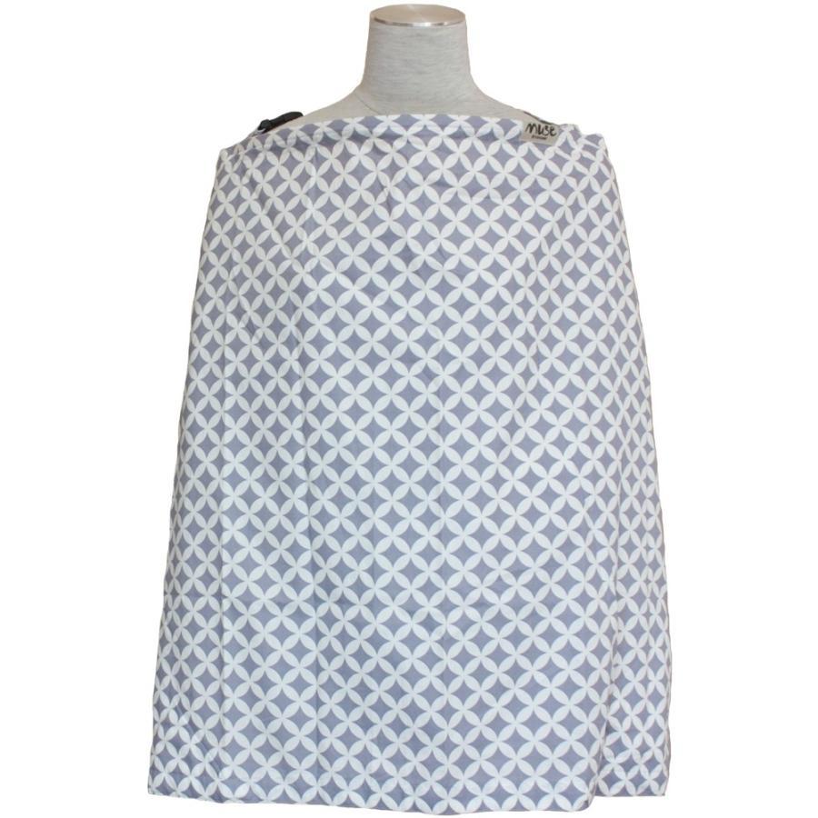 授乳ケープ MUSE(めくれ防止!背面バックル付)4 ワイヤー入り 授乳ケープ ナーシングカバー お口拭き 収納巾着袋 授乳服TA5 tifone 24