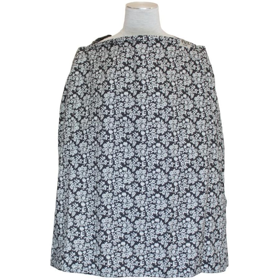 授乳ケープ MUSE(めくれ防止!背面バックル付)4 ワイヤー入り 授乳ケープ ナーシングカバー お口拭き 収納巾着袋 授乳服TA5 tifone 25