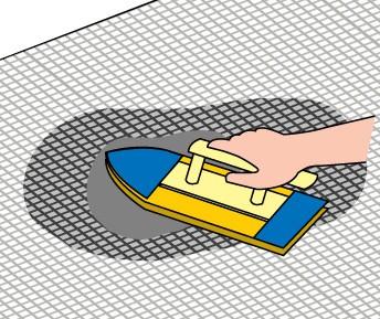 ネット張り施工方法5
