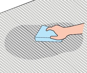 ネット張り施工方法6