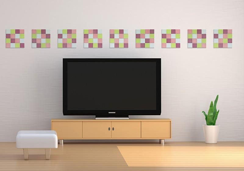 タイルシール モザイクタイル 貼るだけで簡単にタイルインテリアが楽しめる♪壁用♪シールタイプの簡単施工! 磁器タイル 洗面所 キッチン トイレ リビング DIY
