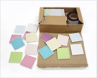 両面テープで貼るだけ簡単 エンジョイタイル モザイク タイル シール