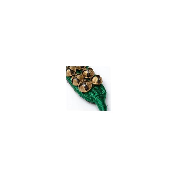ベル グングルベルト インド 打楽器 パッド付きグングル 2列 民族楽器 銅鑼 ドラ インド楽器 エスニック楽器 ヒーリング楽器 tirakita-shop 10
