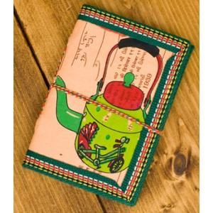 メモ帳 ノート 神様 〈12.8cm×8.5cm〉インドの神様柄紙メモ帳 やかん ロクタ ネパール エスニック アジア 雑貨|tirakita-shop|14