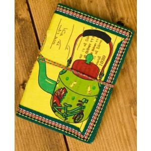 メモ帳 ノート 神様 〈12.8cm×8.5cm〉インドの神様柄紙メモ帳 やかん ロクタ ネパール エスニック アジア 雑貨|tirakita-shop|16
