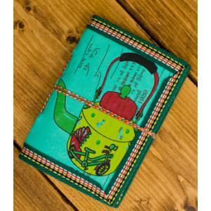 メモ帳 ノート 神様 〈12.8cm×8.5cm〉インドの神様柄紙メモ帳 やかん ロクタ ネパール エスニック アジア 雑貨|tirakita-shop|17