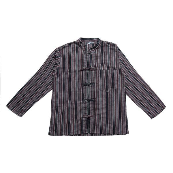 長袖ストライプクルタ / 送料無料 男性用シャツ 長袖シャツ レビューでタイカレープレゼント|tirakita-shop|29