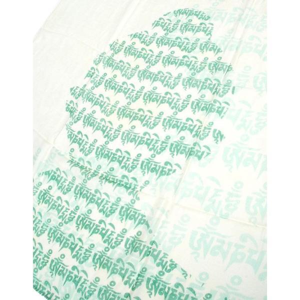 ラムナミ チベット 布 (160cm×70cm)ヒストリーブッダのファンシーストール ショール ドゥパッタ スカーフ レディース エスニック衣料 tirakita-shop 14