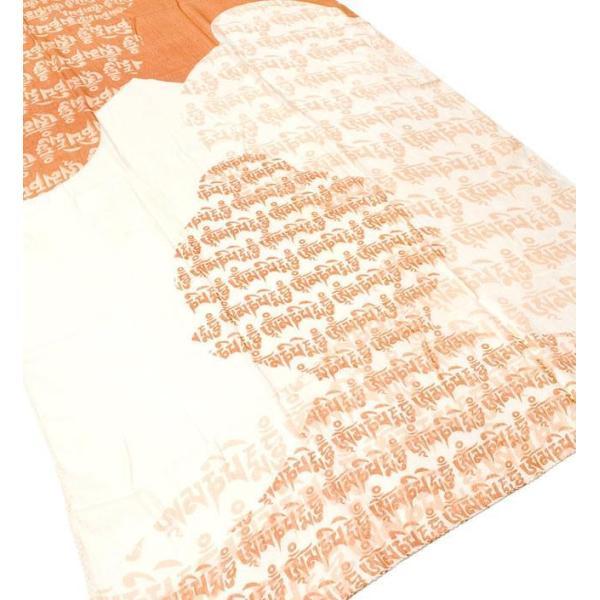 ラムナミ チベット 布 (160cm×70cm)ヒストリーブッダのファンシーストール ショール ドゥパッタ スカーフ レディース エスニック衣料 tirakita-shop 18