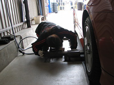 タイヤ交換04