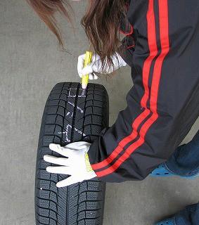 タイヤ交換09
