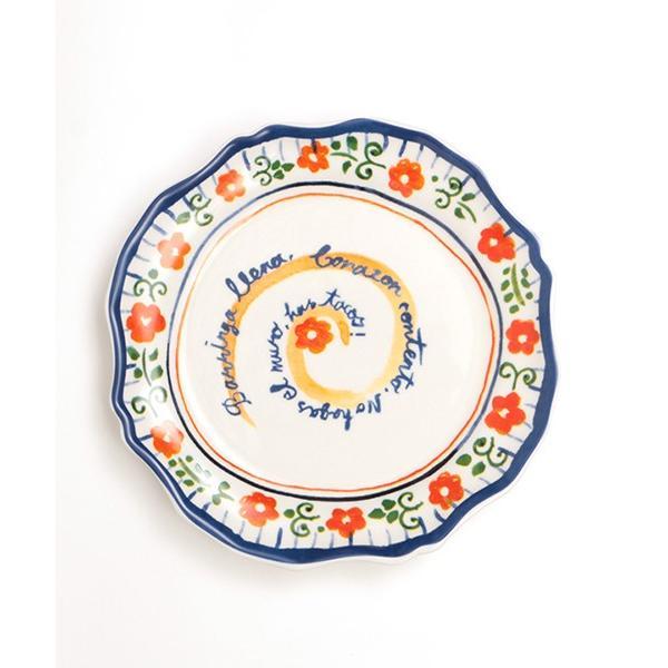 プレート 皿 小皿 中皿 夏 春 食器 取り皿 ケーキ皿 丸皿 キッチン カラフル インテリア プレゼント ギフト 贈り物 メキシコフラワー プレート ziscc2422 titicaca-y 13