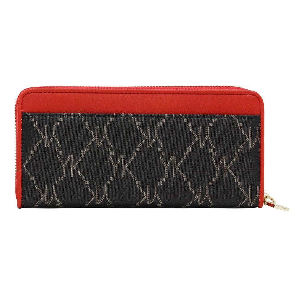 ユキコ キミジマのラウンドファスナー長財布(ロングウォレット)は、上品な女性にぴったり