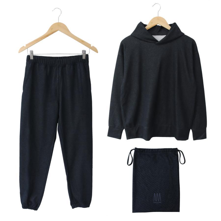 ルームウェア メンズ 日本製 上下セット 長袖 部屋着 3点セット CHILLCRIB and 1mile チルクリブ アンド ワンマイル Relax wear (cc-m1001)|tn-square|14