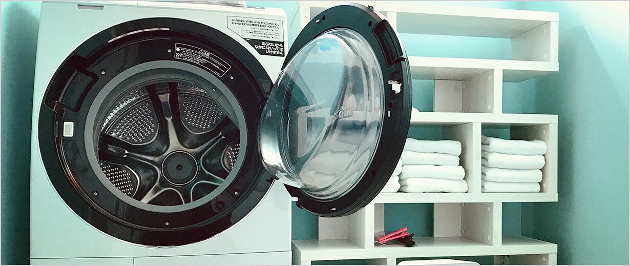 高品質の生地と縫製だからご自宅で洗濯可能