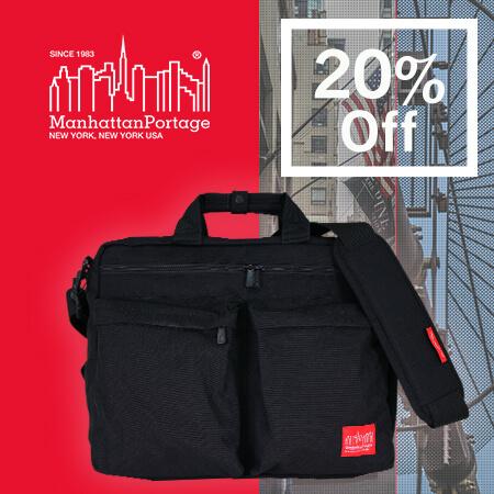 Manhattan Portage マンハッタンポーテージ バックパック ビジネスバッグ 黒 ショルダーバッグ ビジネスリュック 大容量 A4