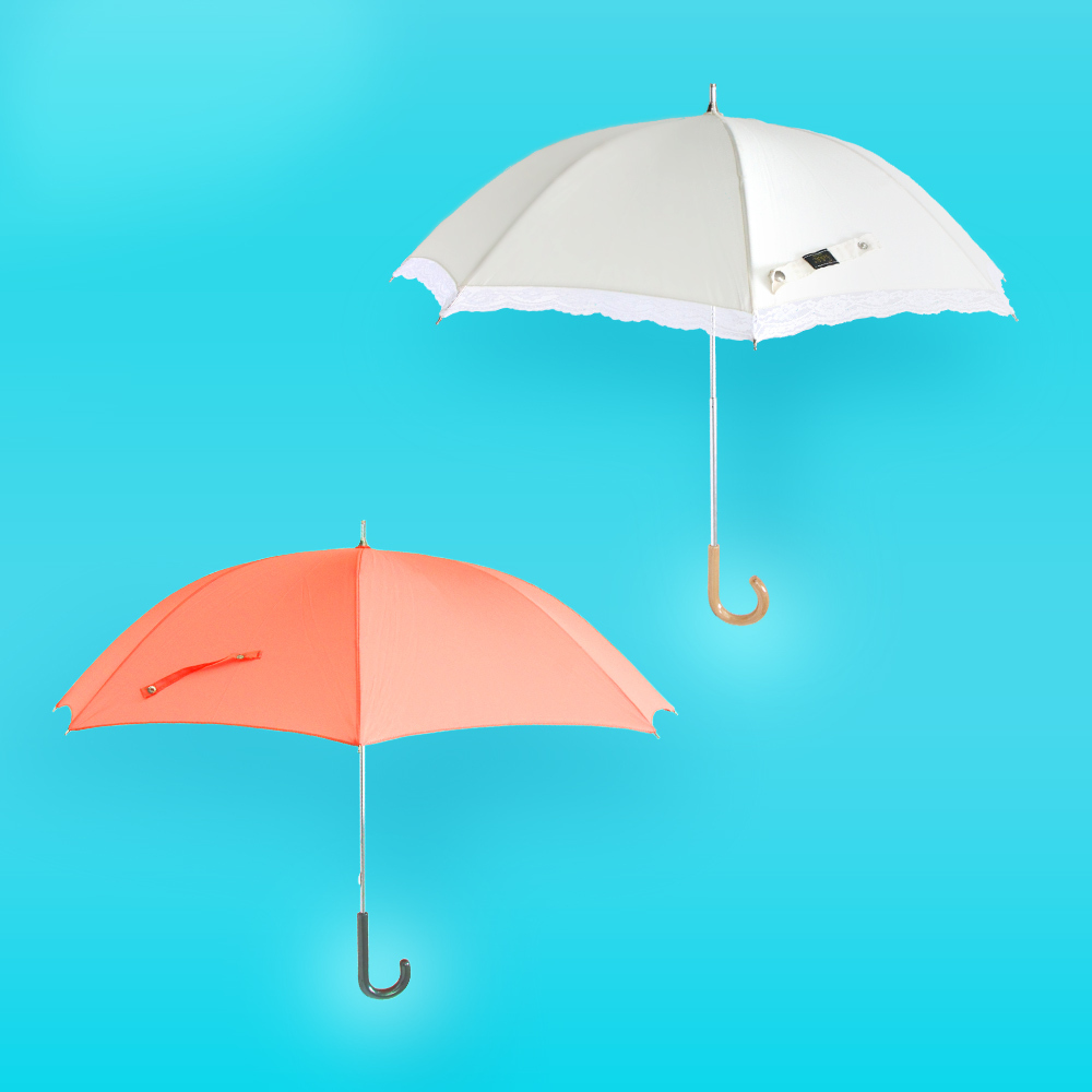 ナイスクラップ レース レディース 傘 晴雨兼用 雨傘 アンブレラ 日傘