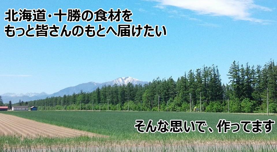 北海道十勝の食材についてのトップページタイトル