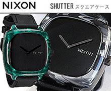 シャッター NIXONニクソン腕時計