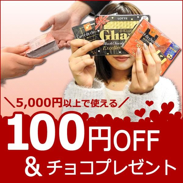 【100円OFF&チョコレプレゼント】★バレンタイン特別クーポン★