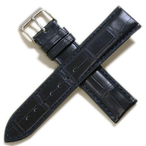 時計ベルト メンズ カシス アドナラカウチック アリゲーター竹斑(裏ラバー)18mm 19mm 20mm 21mm 22mm|tokeiyanet|16