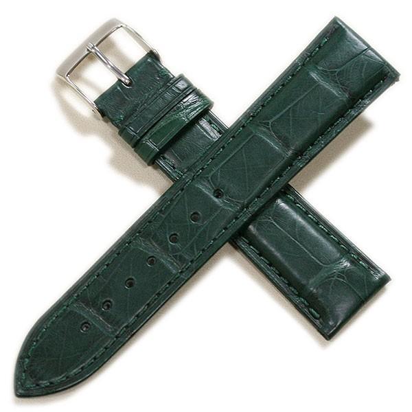 時計ベルト メンズ カシス アドナラカウチック アリゲーター竹斑(裏ラバー)18mm 19mm 20mm 21mm 22mm|tokeiyanet|17