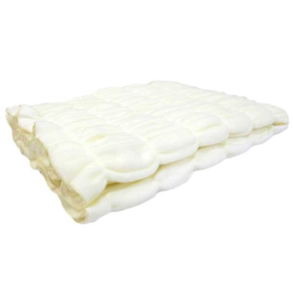 くしゅくしゅ毛布のやさしい肌ざわり のび〜る 毛布 ハーフ ブランケット 綿100 お昼寝ケット 吸湿 日本製 ふわふわ 暖かい 掛け毛布 丸洗い ひざ掛け|tokumen|08