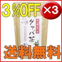グアバ茶3袋セット送料無料