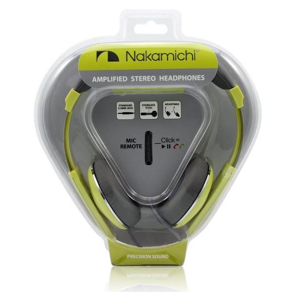 Nakamichi USA 米国ナカミチ NK2000 最高品質 オーバーイヤー ステレオ ヘッドホン