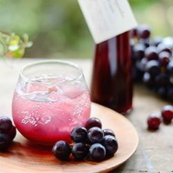 銀座のジンジャー grape cassis