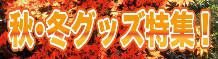 秋冬グッズ特集