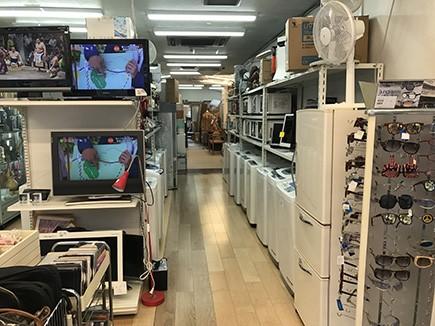 中古洗濯機,中古冷蔵庫,電子レンジ,ガスコンロ,家具など