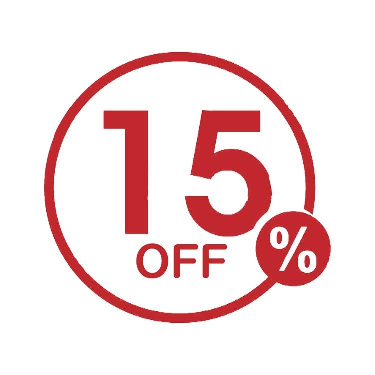 今がチャンス!期間限定!対象商品15%OFFクーポン!