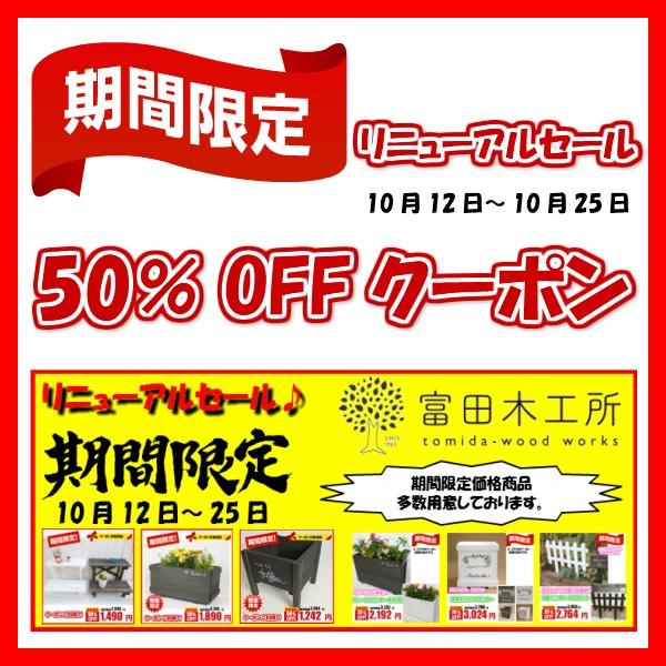 リニューアル特別クーポン☆50%OFF☆