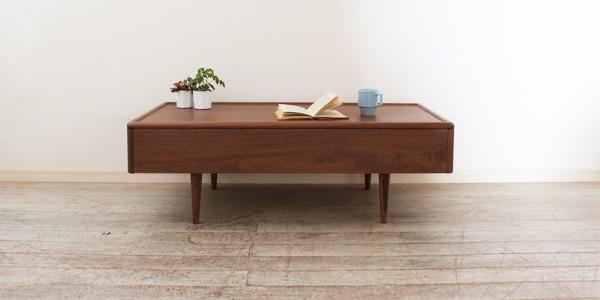 角の丸い家具