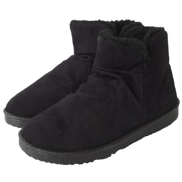 ムートンブーツ メンズ ブーツ エンジニアブーツ ショートブーツ インヒール付 裏ボア 裏起毛 サイドジップブーツ 無地 靴 秋冬 暖か 防寒 ファスナー|tool-power|27