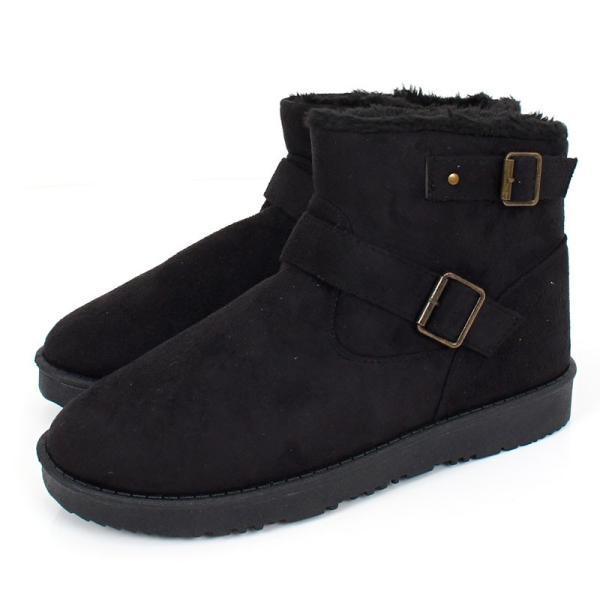ムートンブーツ メンズ ブーツ エンジニアブーツ ショートブーツ インヒール付 裏ボア 裏起毛 サイドジップブーツ 無地 靴 秋冬 暖か 防寒 ファスナー|tool-power|31