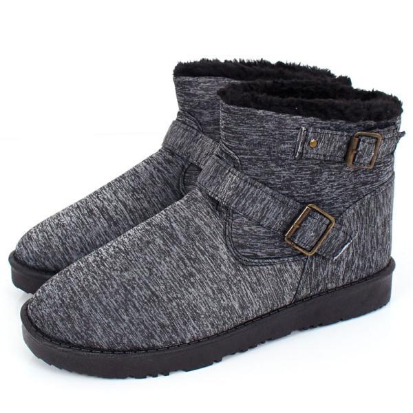 ムートンブーツ メンズ ブーツ エンジニアブーツ ショートブーツ インヒール付 裏ボア 裏起毛 サイドジップブーツ 無地 靴 秋冬 暖か 防寒 ファスナー|tool-power|35