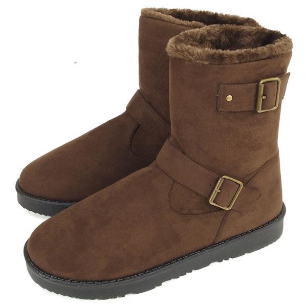 ムートンブーツ メンズ ブーツ エンジニアブーツ ショートブーツ インヒール付 裏ボア 裏起毛 サイドジップブーツ 無地 靴 秋冬 暖か 防寒 ファスナー|tool-power|24